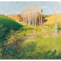 Pierre-Eugène Montézin (1874-1946) - Autumn in Creuse