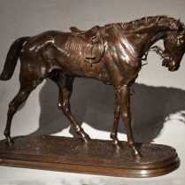 Pierre-Jules Mène (1810-1879) Cheval de course
