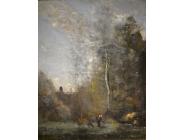 Une oeuvre importante de Jean-Baptiste Camille Corot