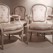 Suite de 4 fauteuils par Georges Jacob