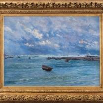 Maurice Courant (1847-1925) - Mer agitée, 1892