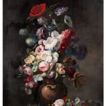 Clément Gontier (1876-1918) - Monumental Flower arrangement