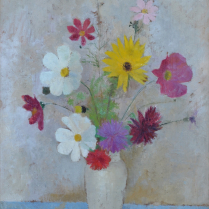 Thérèse Debains (1907-1975) - Bouquet de fleurs