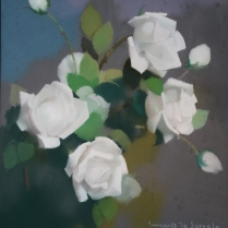 Lucien Victor Guirand de Scévola (1848-1928) - Roses blanches