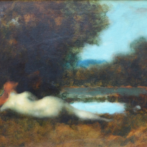 Jean-Jacques Henner (1829 - 1905) - Nymph at the Spring Water