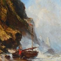Eugène Isabey (1803-1886) - Retour de pêche