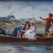 François Lanfant de Metz (1814-1892) - Day of the Baptism