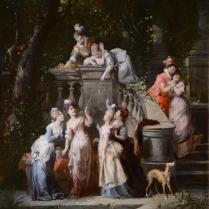 François Lanfant de Metz (1814-1892) - Joyeuse après-midi