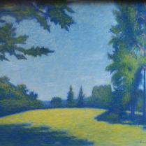 Achille Laugé (1861-1944) - La clairière, 1923