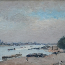 Albert Lebourg (1849-1928) - Quais de Seine, 1880