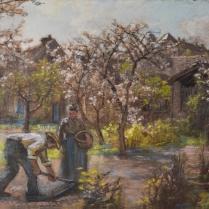 Léon Augustin Lhermitte (1844-1925) - Plantation de pommes de terre