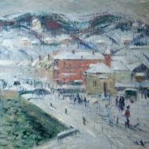 Gustave Loiseau (1865-1935) - Port de Fécamp