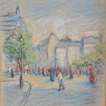 Maximilien Luce (1858-1941) - Vue animée de Paris