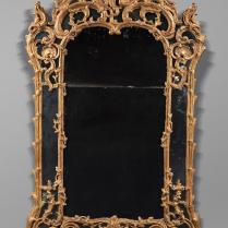 Haut Miroir Rocaille