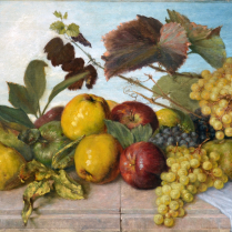 Franz Molitor (1857-1929) - Nature morte de fruits