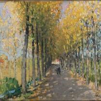 Pierre-Eugène Montézin (1874-1946) - Après-midi d'automne