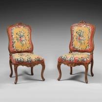 Chaises de Salon, à la Reine