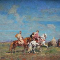 Henri Emilien Rousseau (1875-1933) - Cavaliers on the Move
