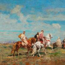 Henri Emilien Rousseau (1875-1933) - Cavaliers en marche