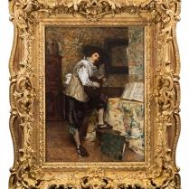 Ferdinand Roybet (1840-1920) - Le musicien, 1902