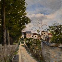 Louis Abel-Truchet (1857-1918) - Journée printanière à Montmartre, 1883