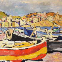 Louis Valtat (1869-1952) - Banyuls Harbor