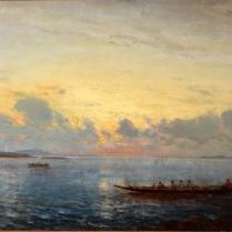 Félix Ziem (1821-1911) - Caïques dans le Bosphore