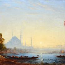 Félix Ziem (1821-1911) - Vue de Constantinople