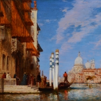 Félix Ziem (1821-1911) - The Palazzo Franchetti and the Salute