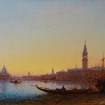 Félix Ziem (1821-1911) - View of Saint Mark from the Riva degli Schiavoni, Venice