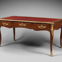 Louis XV Period Flat Desk, Stamped Rochette