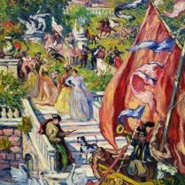 Georges d'Espagnat (1870-1950) - Le carnaval, 1895