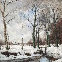 Arnold Marc Gorter (1866-1933) - Snow Landscape