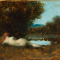 Jean-Jacques Henner (1829-1905) - Nymph at the Spring Water