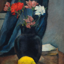 Charles Kvapil (1884-1957) - Lemon and Flowers