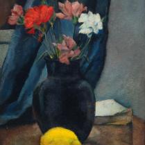 Charles Kvapil (1884-1957) - Citron et fleurs