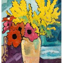 Louis Valtat (1869-1952) - Bouquet de mimosas
