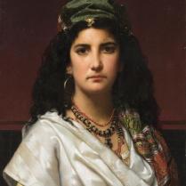 Jon Frederik Pieter Portielje (1829-1908) - oriental beauty
