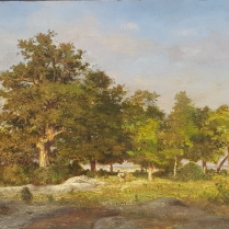 Ernest Guillemer (1839-1913) - Cows under the trees