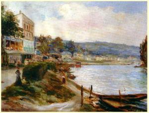 Alfred Bachmann La Seine à Meudon Meudon, Musée de la Ville