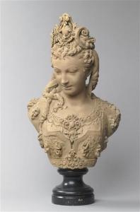 Paris, Musée d'Orsay - Buste de femme - Albert Ernest Carriere-Belleuse.