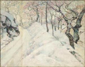 Victor Charreton - La neige - Paris, Musée d'Orsay