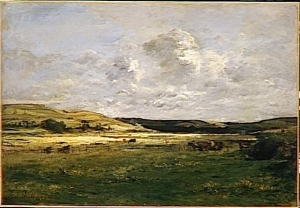 Karl Daubigny - Vallée de la Scie, près de Dieppe - Musée d'Orsay, Paris