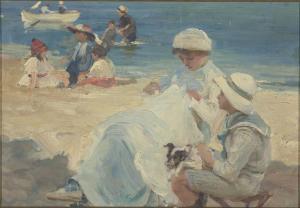 Paul-Michel Dupuy - La plage - Musée d'Orsay, Paris