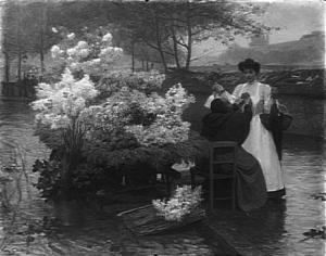 Victor Gilbert - Fleurs d'hiver - Paris, Petit Palais