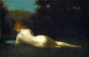 Jean-Jacques Henner - Nu allongé - Washington, National Gallery of Art
