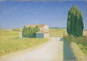Achille Laugé - Le relais - Carcassonne, Musée des Beaux-Arts