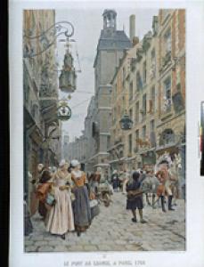 Maurice Leloir - Le Pont au change, Paris - Paris, BnF