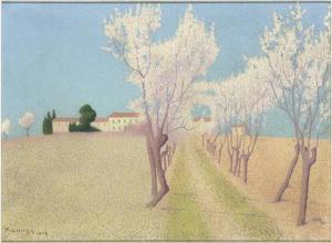 Achille Laugé - Paysage de la Gardie, près de Calhau - Musée d'Orsay