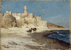 Henri Emilien Rousseau - Monastir - Chambéry, Musée des Beaux-Arts